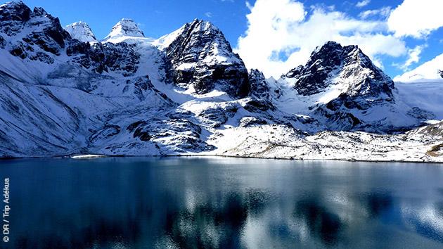 trekking en bolivie dans la cordillière des andes