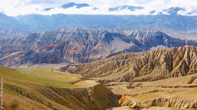 trek au Mustang en Himalaya