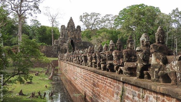 Circuit trekking au Cambodge, entre Angkor et le lac Tonlé Sap