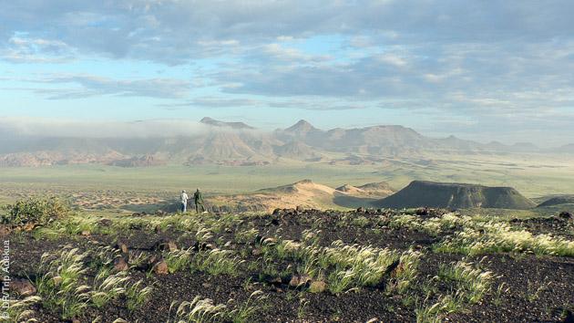 Trekking en Namibie, dans le Damaraland et Kaokaland