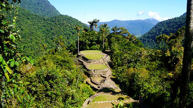superbe découverte à pieds de la Colombie