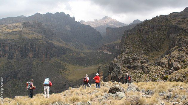trekking en Tanzanie