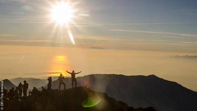 monter sur les volcans de Bali et Lombok