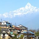 très beau circuit trekking au Népal