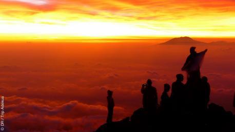 ascension du plus haut sommet de Java