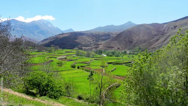 Magnifique séjour trekking dans le Haut Atlas du Maroc, autour du mont M'Goun