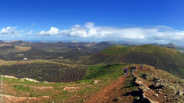 voyage randonnée aux Canaries sur les volcans