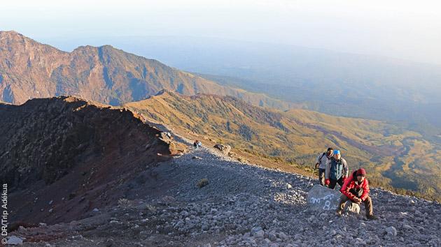 Ascension sportive sur les volcans de Bali et Lombok lors de ce séjour trekking guidé
