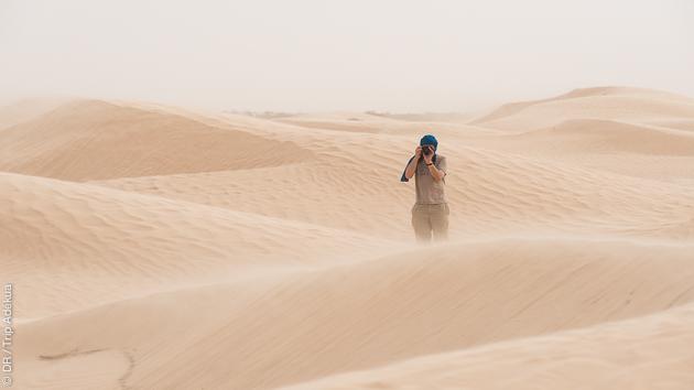 Sillonnez le sud de la Tunisie en trek avec caravane de dromadaires