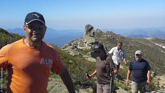 Séjour randonnée trek sur le GR20 de Corse, pour marcheurs aguerris