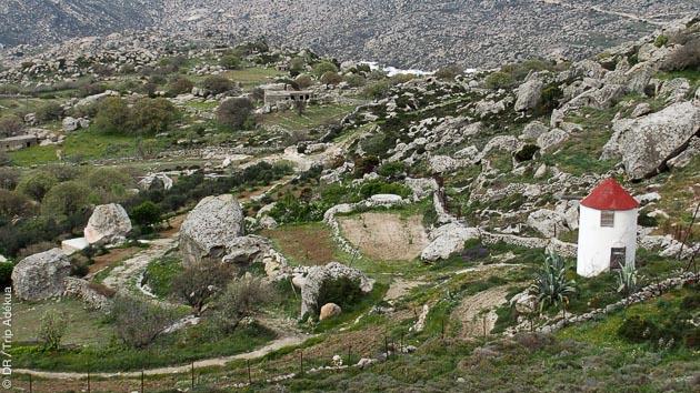 Itinéraire de trek inoubliable sur une ile de la mer Egée, Tinos