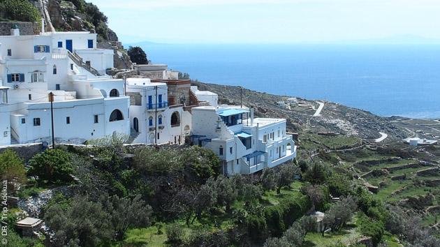 Circuit randonnée sur l'Ile de Tinos en Grèce