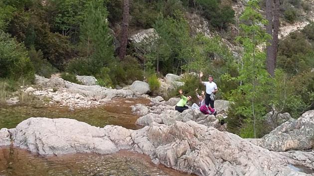 Trek en gîte d'étape en famille dans l'Alta Rocca en Corse
