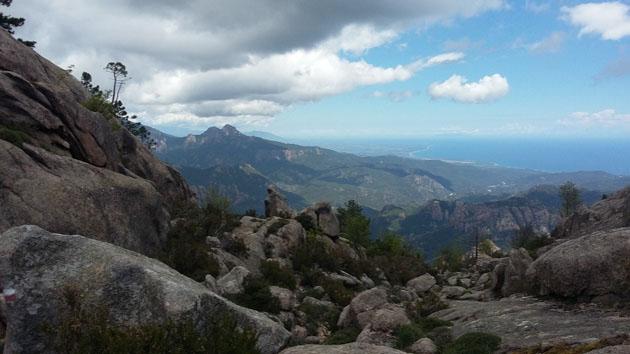 3 jours de marche dans l'Alta Rocca en Corse