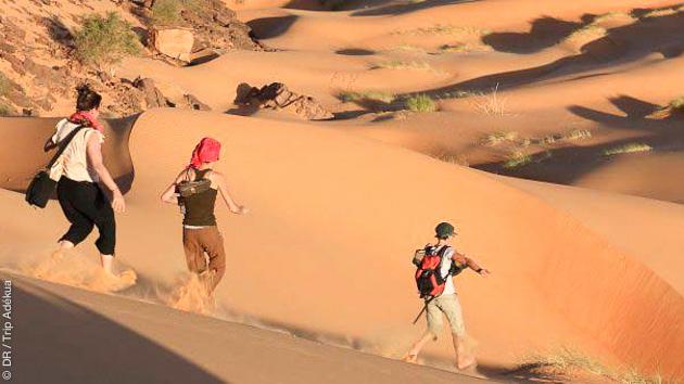 Circuit trekking en Mauritanie, dans le désert de l'Adrar