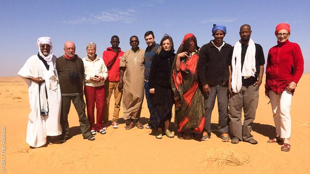 Un circuit trek et découverte de la Mauritanie, entre amis ou en famille