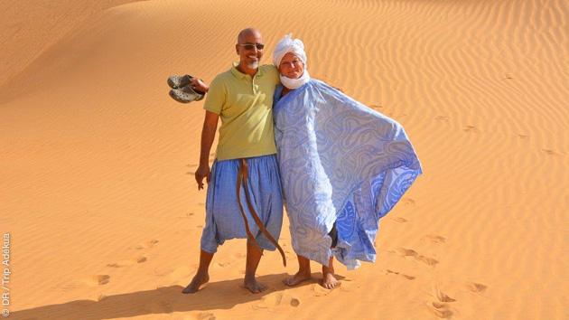 Un trek d'exception en toute convivialité dans le désert mauritanien