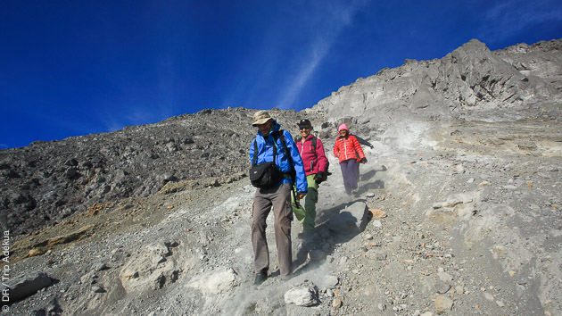 trek sur les volcans de Java