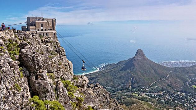 Table Mountain au Cap pour débuter votre trek en Afrique du Sud