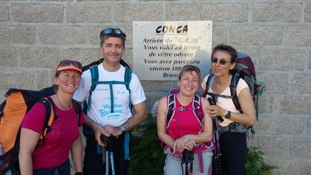 Un trek sport en Corse à faire entre amis