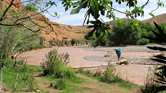 Vallée de Aït Bouguemez, Vallée Oulilimt, vallée des Aït Bouali... votre circuit trekking vous réserve de beaux paysages