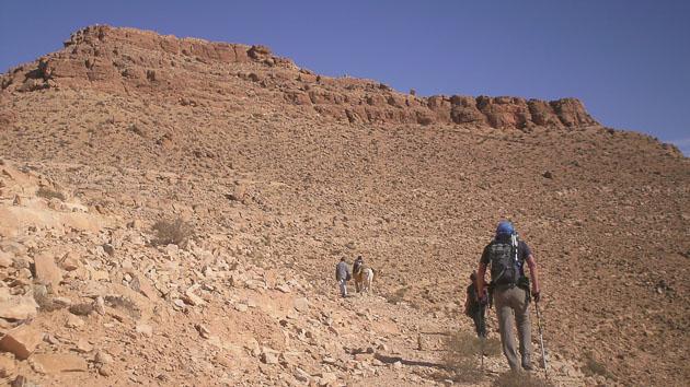 Une randonnée trekking unique en Tunisie