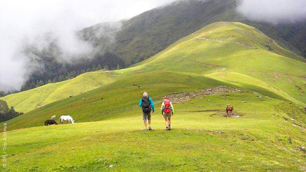 Balades et randonnées dans les vallons du Kumeon Himalaya, au Nord de l'Inde