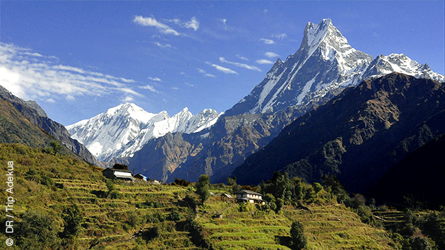 Circuit trekking sur les balcons de l'Annapurna au Népal