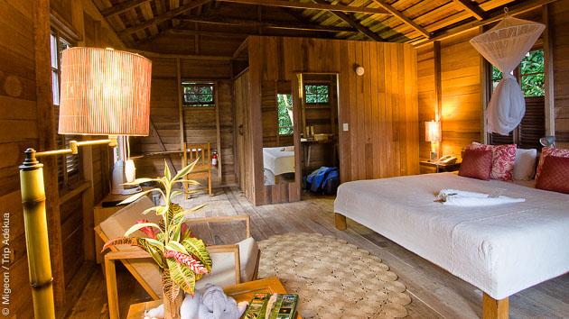Votre hébergement en gîte pour ce séjour trekking sur l'île de la Dominique