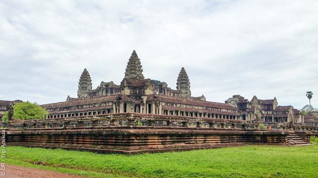 La cité royale d'Angkor à découvrir en randonnée pendant ce circuit au Cambodge