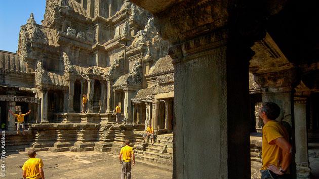 Un séjour complet à randonner, découvrir et faire du vélo entre Angkor et les temples du Cambodge