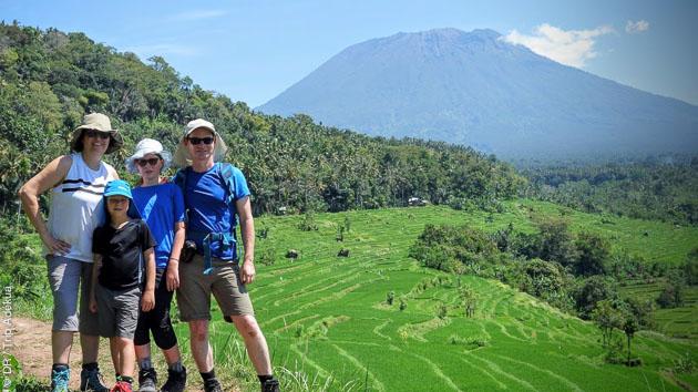De magnifiques paysages à découvrir en famille ou entre amis, pendant vos trek en Indonésie