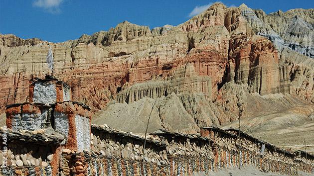 16 jours de randonnées pédestres dans les magnifiques paysages du Royaume du Mustang au Népal