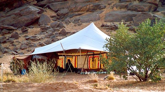 Bivouac et caravane chamelière pour ce trek en Mauritanie