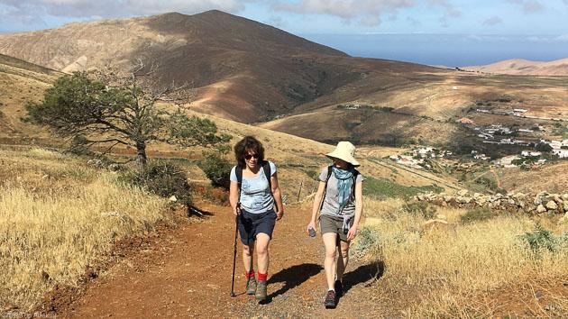 Un séjour rando de rêve aux Canaries sur l'île de Fuerteventura