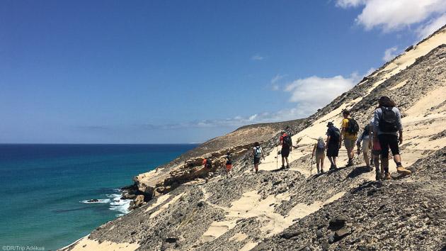 Un séjour rando avec hôtel, guide et pensions complète aux Canaries