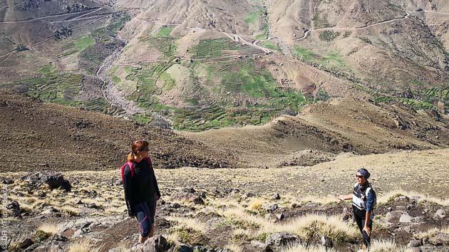 Randonnée trek au coeur du Parc National de Toubkal, au Maroc