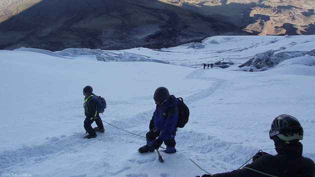 Un trek unique sur les pentes du plus haut volcan actif au monde