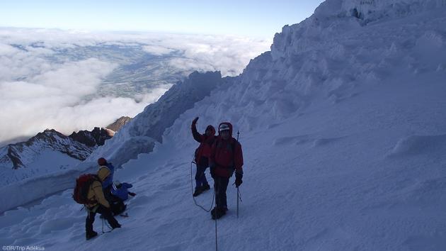 Un trek entre randonnée et alpinisme en Equateur