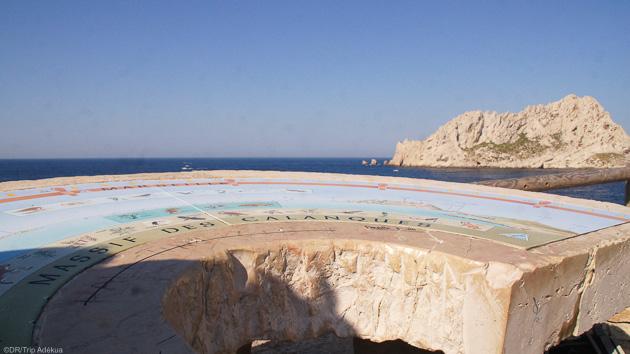 Calanques de Cassis, île du Frioul au programme de ce trek à Marseille