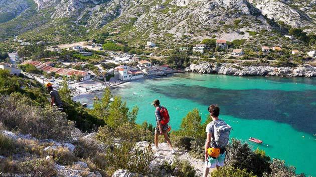 Un séjour randonnée à la découverte des Calanques de Marseille