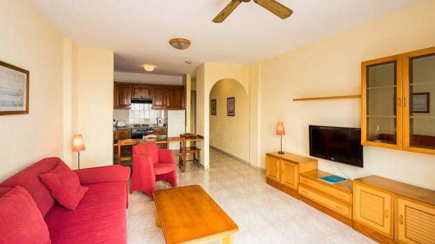 Un appartement-hôtel tout confort aux Canaries