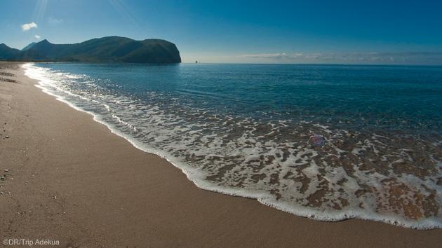 La plus grande plage de l'Adriatique au Monténégro
