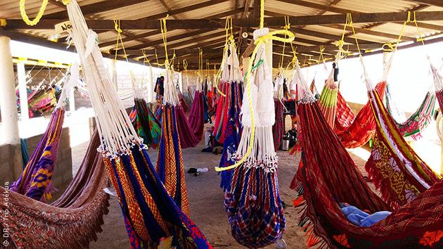 Lors de ce trek en Colombie, vous êtes logés en gîtes, bivouac et même hamac !