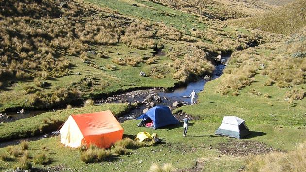 Votre trek en Equateur avec des bivouac exceptionnels