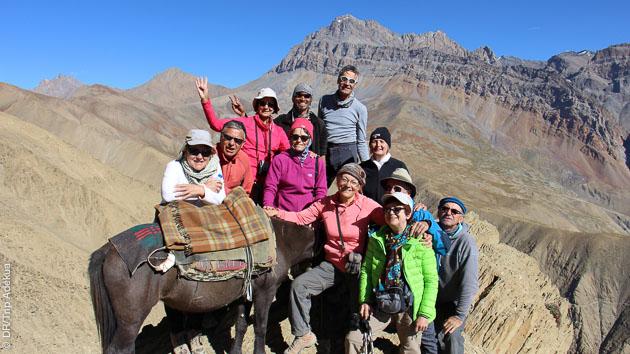 Trekking et rencontres sur les sentiers du Zanskar avec guide francophone