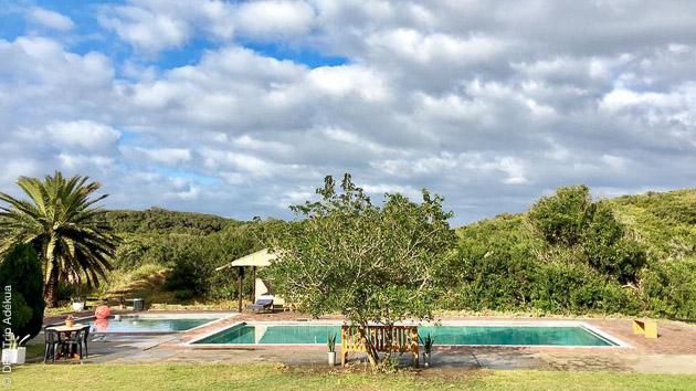 Hébergement tout confort pendant votre randonnée en Afrique du Sud