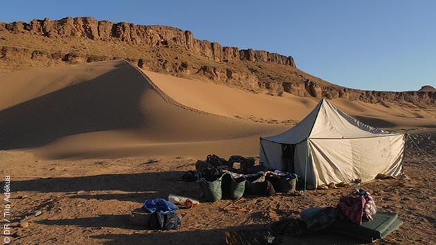 Séjour trekking dans l'immensité du désert du sud Maroc