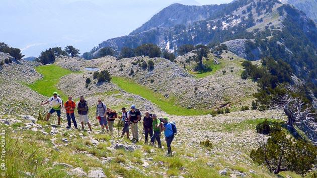 Trekking nature en Albanie, avec guide et hébergement en chambres d'hôtes