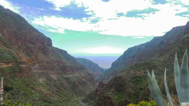 Magnifiques paysages variés traversés par votre trek à Gran Canaria